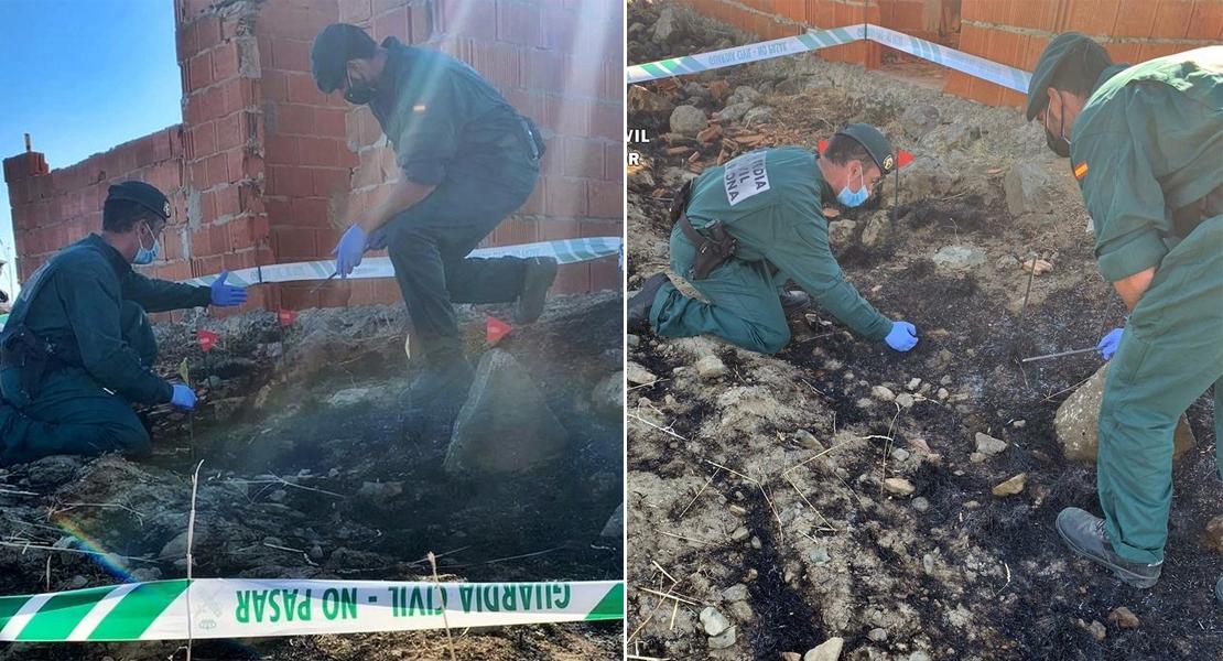 Investigan al supuesto responsable de un importante incendio en La Serena (Badajoz)