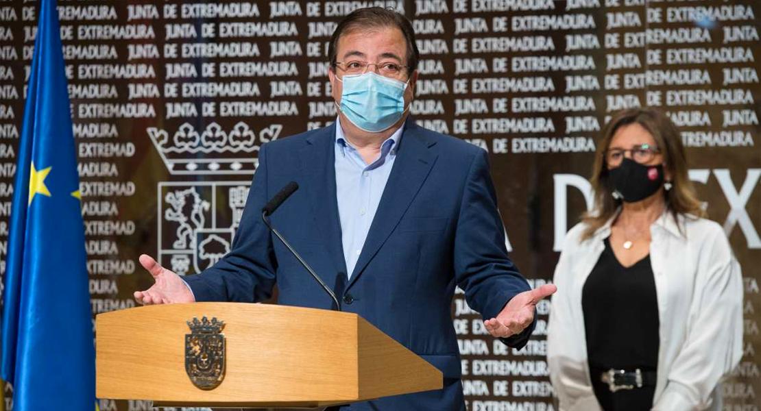 """Vara advierte que si hay que llevar las medidas a más en Extremadura, """"lo haremos"""""""