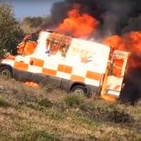 """USO: """"El SES ignora las advertencias respecto a los incendios de las ambulancias de Tenorio"""""""