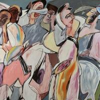 Donan al MUBA una obra de Juan Barjola