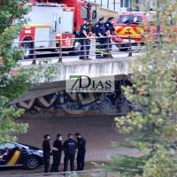 Rescatan a una mujer del arroyo Calamón en Badajoz