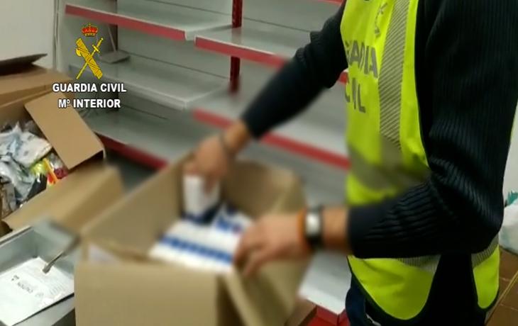 Intervienen más de 3.300 test rápidos de covid que iban a ser utilizados para su venta ilegal