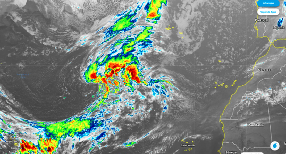 Nace Theta, una nueva tormenta tropical que apunta a la Península: La AEMET ya estudia su avance