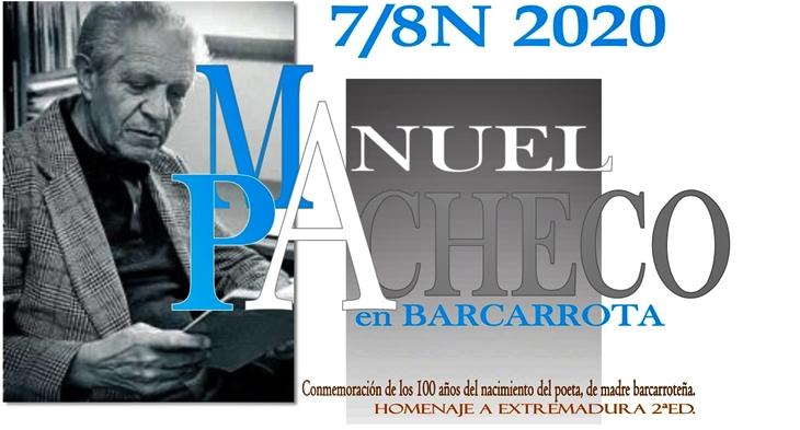 Barcarrota rinde homenaje a Manuel Pacheco durante todo el fin de semana
