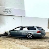 Aparece un nuevo vehículo calcinado en las calles de Badajoz