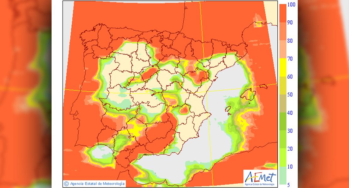 Así se presenta el tiempo en Extremadura durante el fin de semana