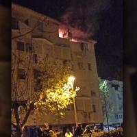 Un incendio de vivienda alerta a los vecinos de la ciudad de Mérida