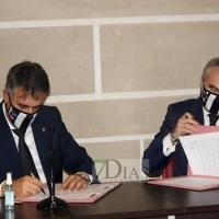 El CD. Badajoz por fin alcanza su objetivo: Firmar la cesión del Nuevo Vivero