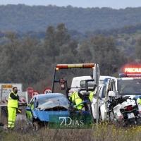 ACCIDENTE: Muere una joven en la carretera BA-154