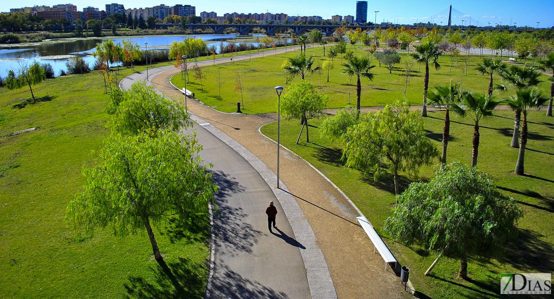 Badajoz no cerrará parques ante la llegada de la borrasca Hortensia