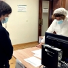 Imagen de los primeros sanitarios vacunados en Extremadura