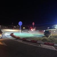 Una joven hospitalizada tras un nuevo accidente en el cruce de Feria (Badajoz) en la N-432