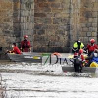 Encuentran un tercer cuerpo en el río Guadiana (Badajoz)