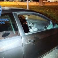 Detenidos por robar en el interior de varios vehículos en Badajoz