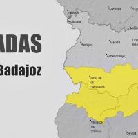 Aviso amarillo por nevadas en Campiña Sur, Tentudía y Sierra Suroeste (Badajoz)