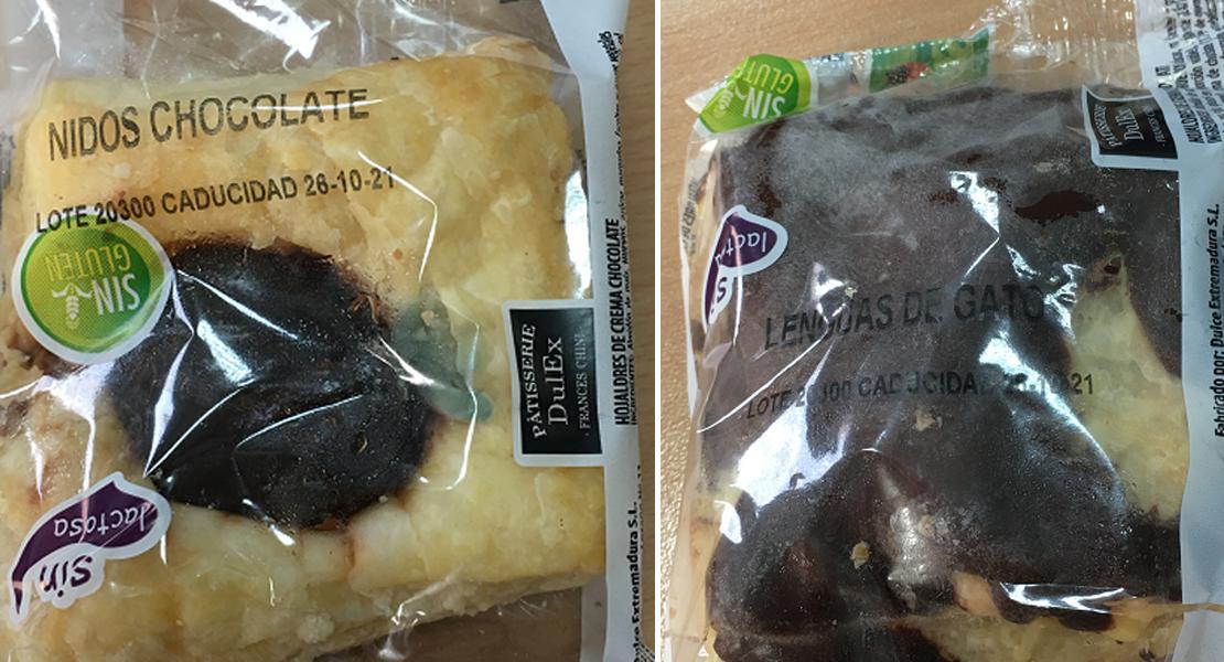 Alerta alimentaria por unos dulces vendidos en Extremadura