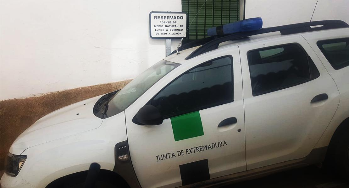 Denuncian varios atentados contra los Agentes del Medio Natural en la provincia de Cáceres