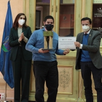 Entrega de los premios de la IV Cata Concurso de Aceites de Oliva Virgen Extra provincia de Badajoz