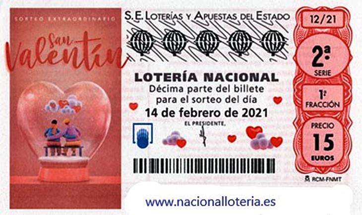 Toca un primer premio de la Lotería Nacional en la provincia de Cáceres