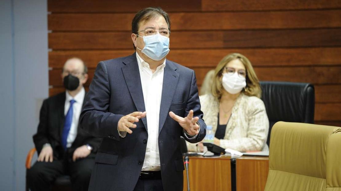 Vara reivindica que Extremadura reciba lo máximo posible de los Fondos Next Generation