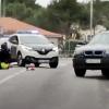 Momentos de máxima tensión para detener a un presunto ladrón: disparos y dos agentes heridos