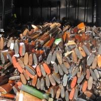 La Guardia Civil de Cáceres destruye más de un millar de armas