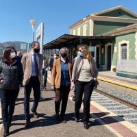 La delegada del Gobierno resalta la mejora de las líneas de ferrocarril convencional en Extremadura