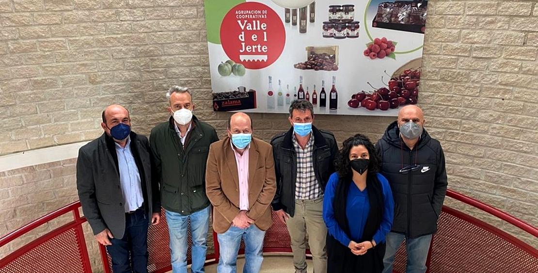 Cooperativas del Valle del Jerte ya produce de manera más saludable