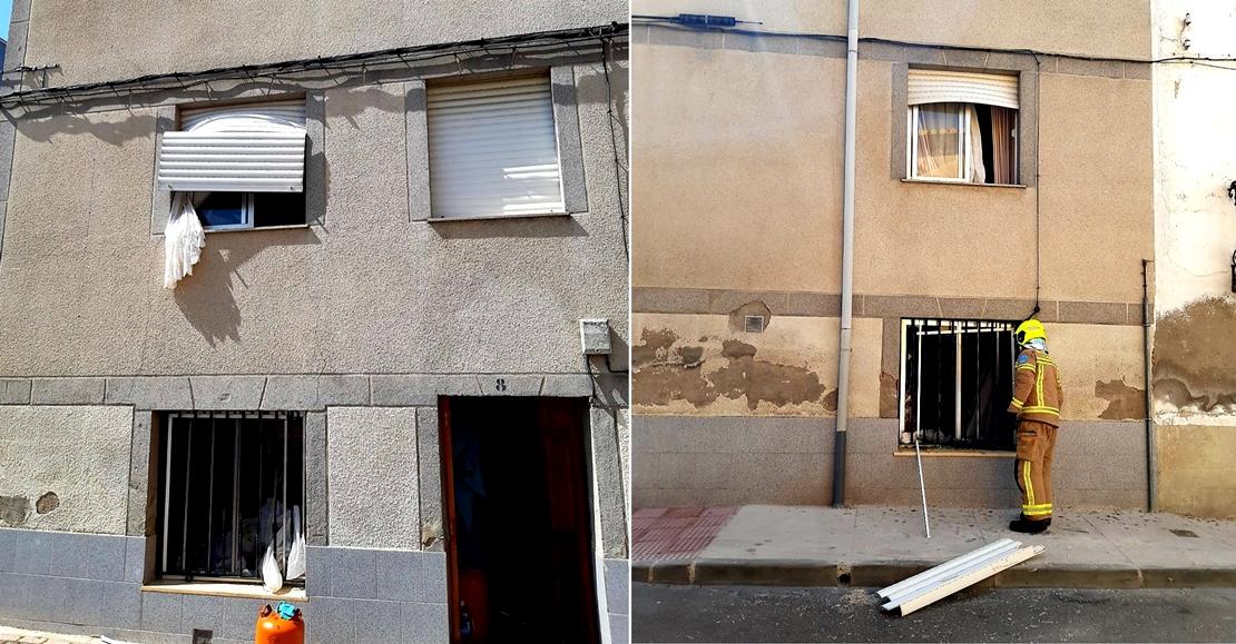 Explosión de gas en una vivienda de Navalmoral (CC)
