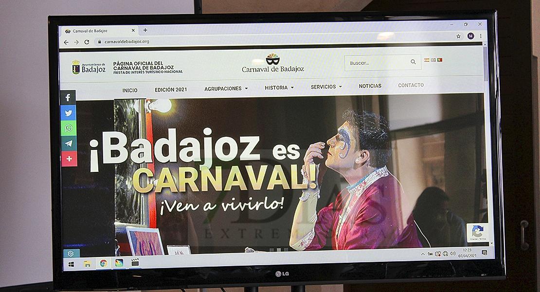 Badajoz ya tiene una web del Carnaval, el último paso para ser de Interés Turístico Internacional