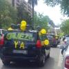 Multitud de vehículos inundan Badajoz exigiendo #FijezaYa