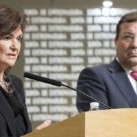 La vicepresidenta del Gobierno, Carmen Calvo, visita esta semana Extremadura