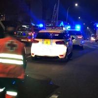 Rescatan a una persona tras incendiarse su vivienda en Badajoz