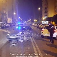 Un conductor de 25 años causa un accidente de tráfico y triplica la tasa de alcohol