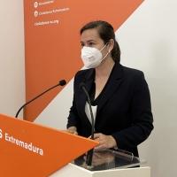 """Cs pide a Vara que vaya a Madrid a """"luchar"""" por los extremeños"""