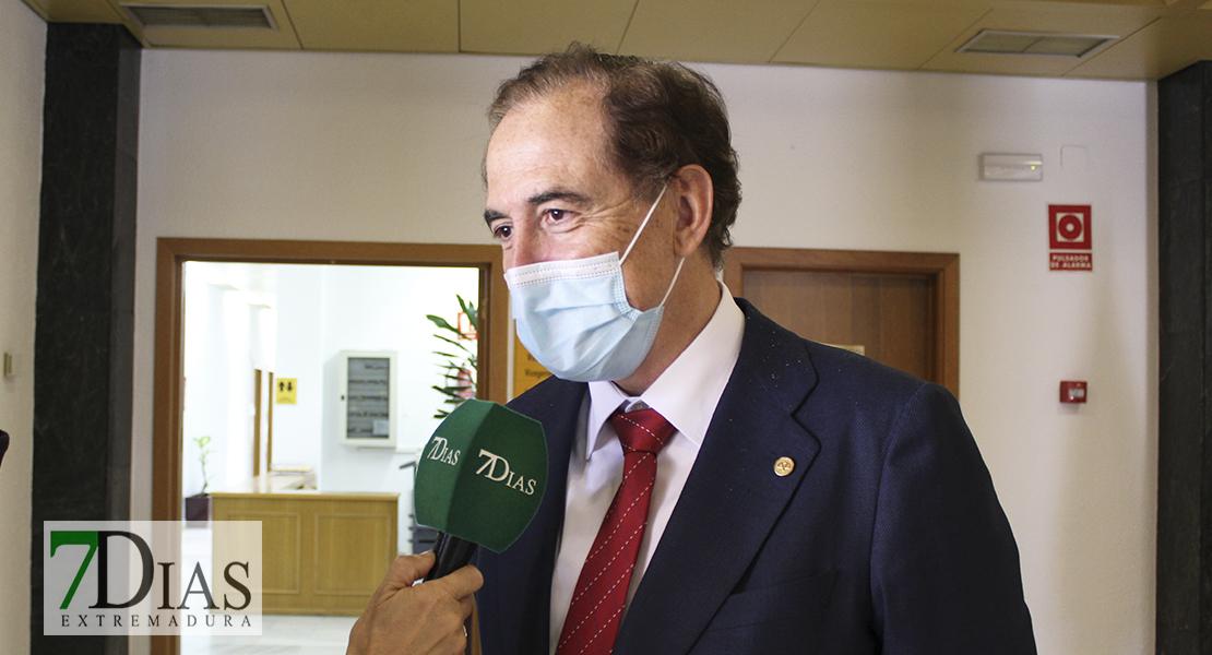 """Antonio Huertas, nuevo presidente del Consejo Social de la UEx: """"Soy consciente de la responsabilidad"""""""