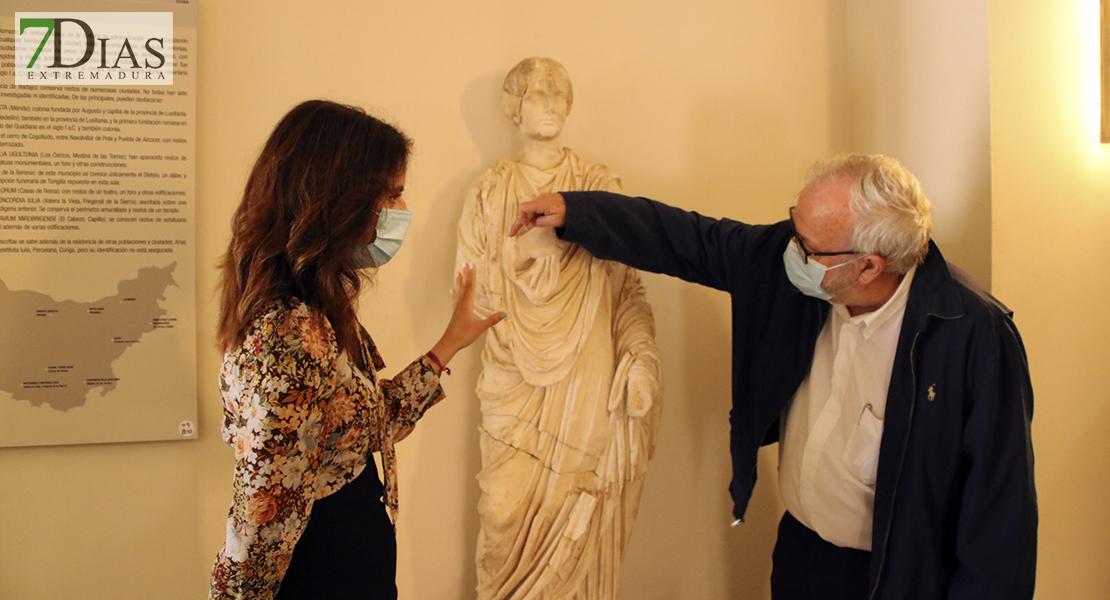 La estatua de la diosa Juno da riqueza al Museo Arqueológico de Badajoz