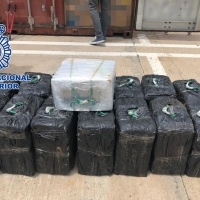 Intervenidos 450 kilogramos de cocaína en un contenedor