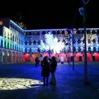 Badajoz se ilumina de verde apoyando a la ELA
