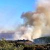 Dificultades para controlar el incendio forestal de la provincia de Cáceres