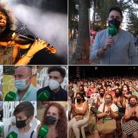 Ara Malikian enamora al público en la primera noche del Alcazaba Festival de Badajoz