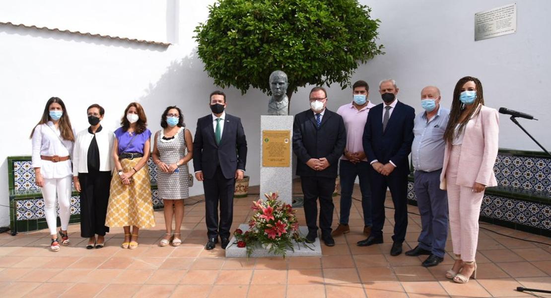 Homenaje al guardia civil Carmelo Bella Álamo, víctima extremeña del terrorismo