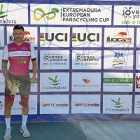 Rubén Tanco subcampeón de la Extremadura European Paracycling Cup